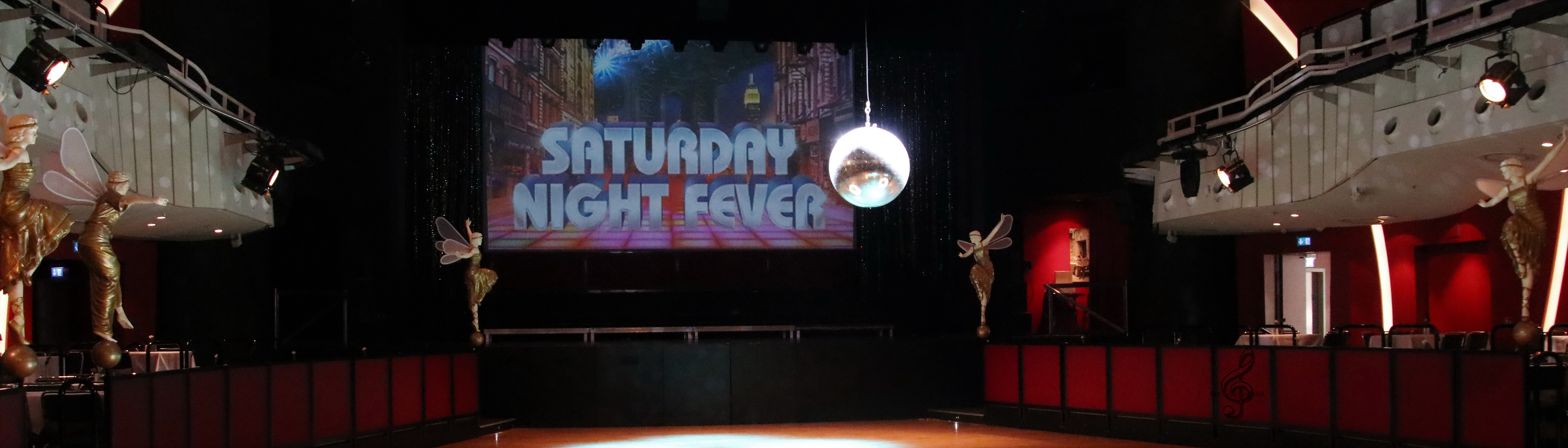 PK Saturday Night Fever Banner