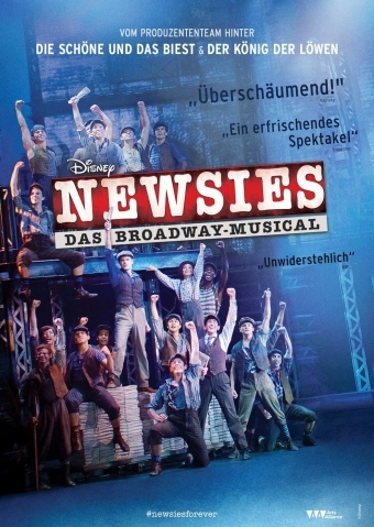 Newsies Plakat