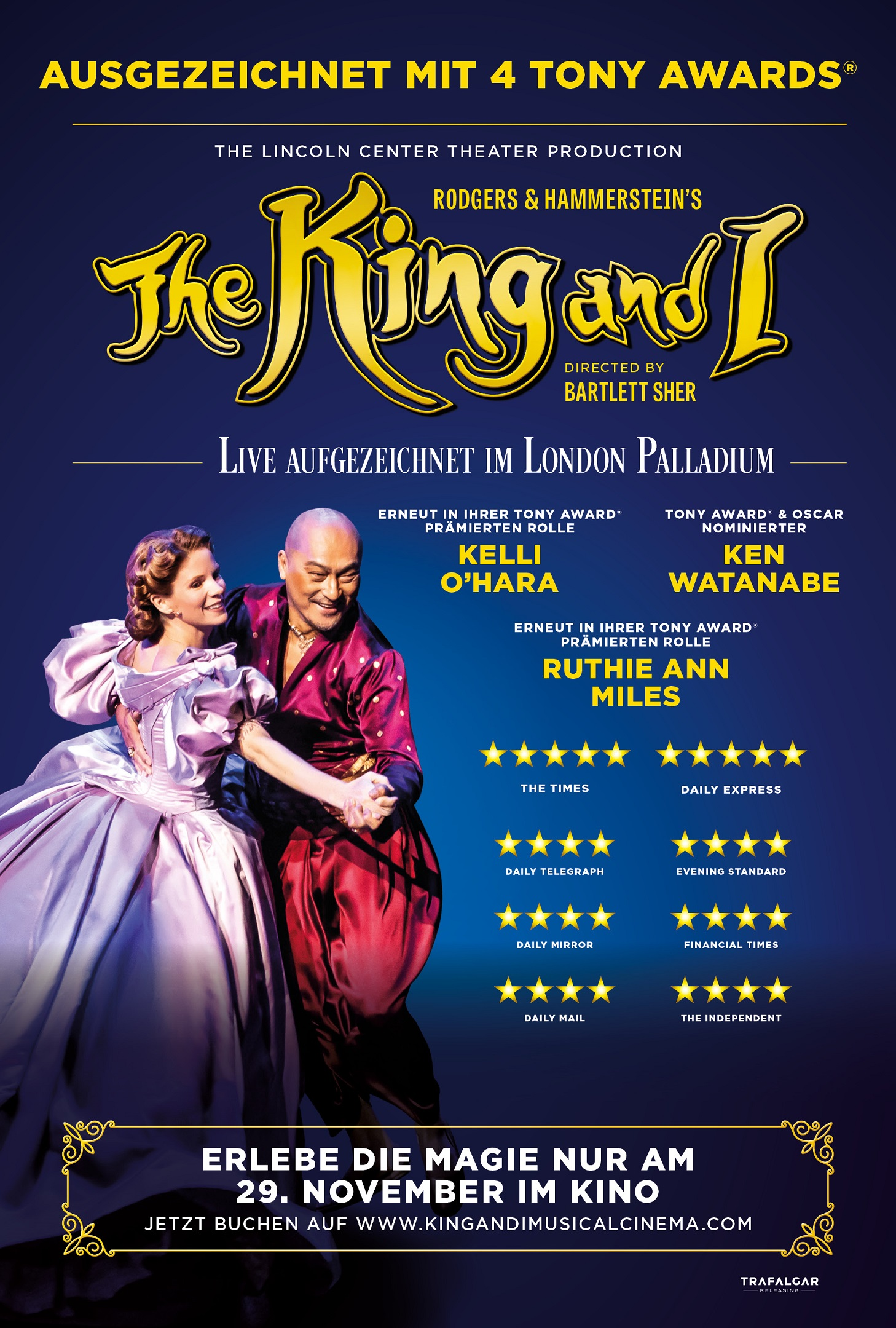 The King and I Plakat