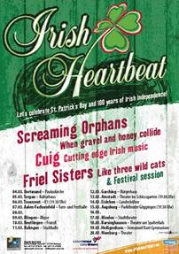 Irish Heartbeatmagnetic music